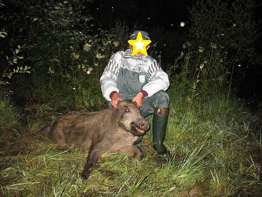 My first hog i hunted